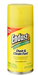 FREE Endust Furniture Cleaner sample!