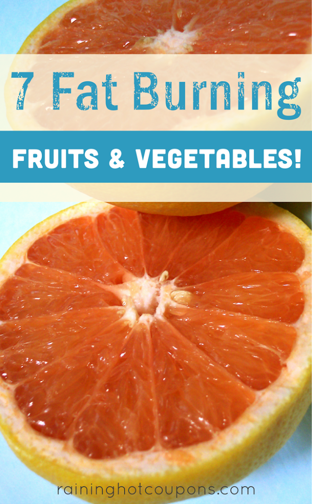 fat 7 Fat Burning Fruits & Vegetables!