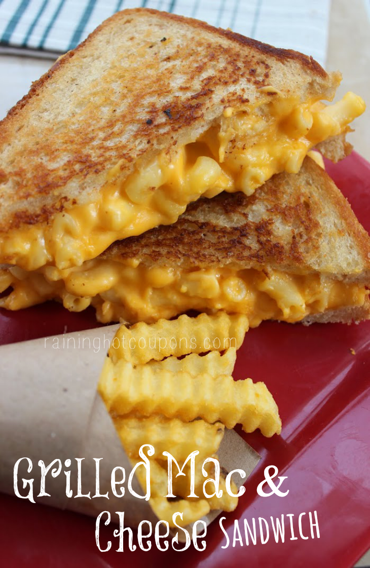 Grilled Mac Amp Cheese Sandwich