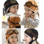 *HOT* Wool Baby/Toddler Pilot Style Cap with Ear Flaps Only $3.87 + FREE Shipping (Reg. $19.95!)