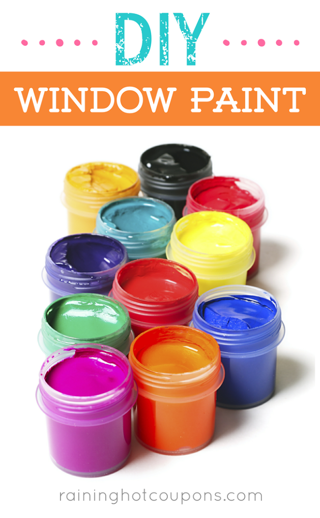 DIY Window Paint