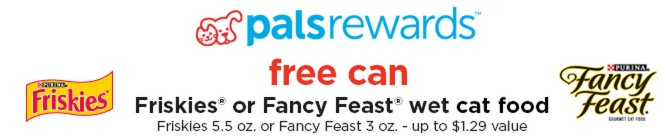 *HOT* FREE Can of Fancy Feast OR Friskies Cat Food at Petco (New offer!)