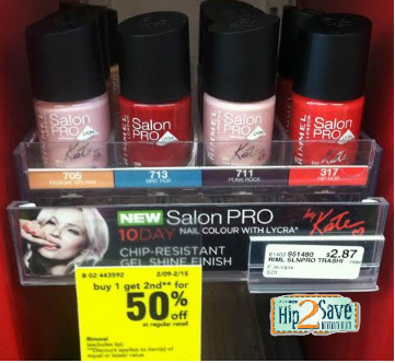 screen shot 2014 02 10 at 2 25 41 pm CVS: Rimmel Salon PRO Nail Colours Only $1.15