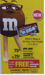screen shot 2014 02 12 at 8 12 52 pm CVS: FREE M&M's Mega or Birthday Cake Singles (Starting 2/16)
