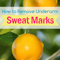 sweat marks