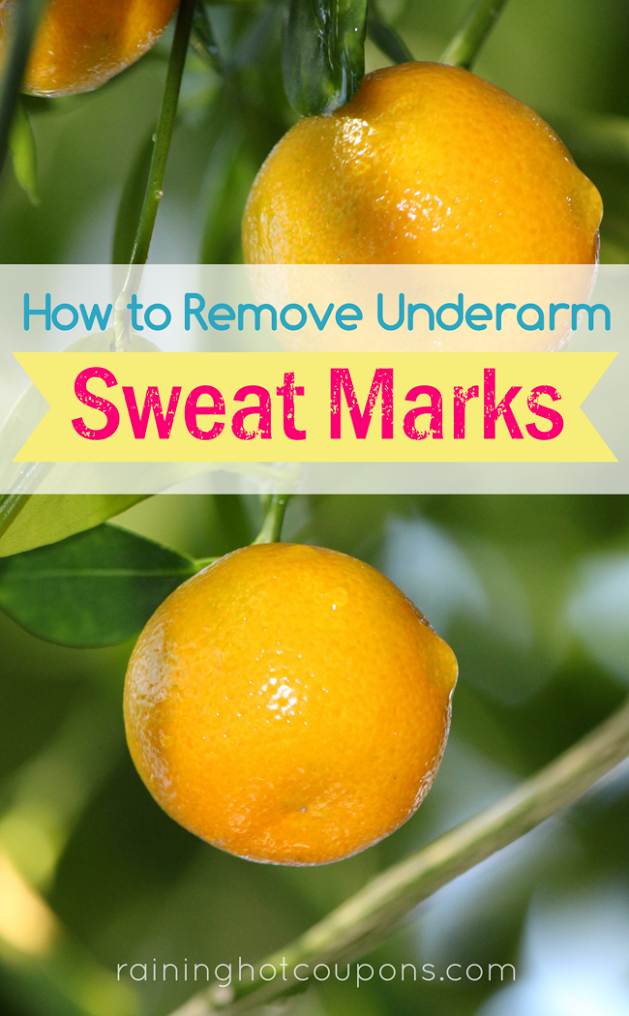 sweat marks How To Remove Underarm Sweat Marks