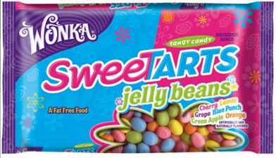 sweet *HOT* Wonka Nestle Sweetarts Jelly Beans Bags Only $1