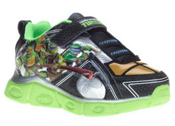 Teenage Mutant Ninja Turles Toddler BoyS Sneakers