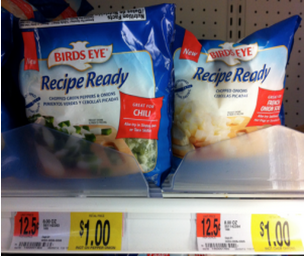 wally *HOT* Birds Eye Recipe Ready Packages Only $0.25 at Walmart!