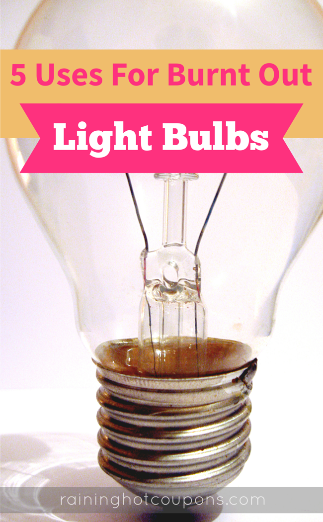 5UsesForBurntOutlIghtBulbs