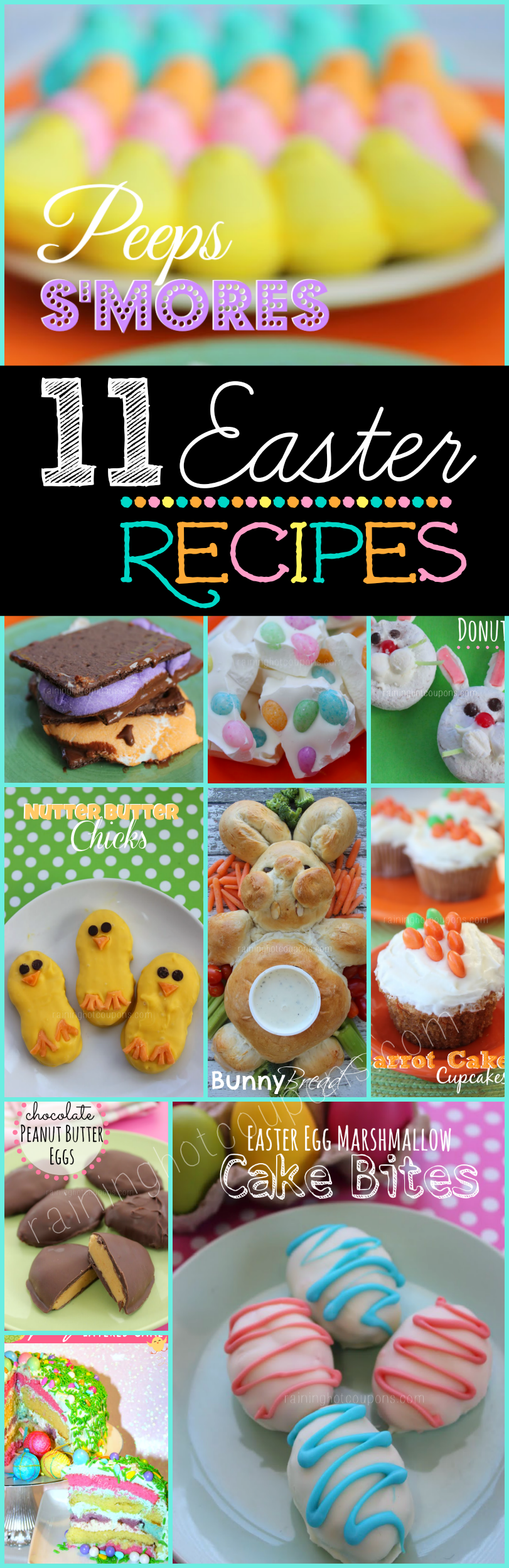 Easter recipes.png 11 Easter Dessert Recipes