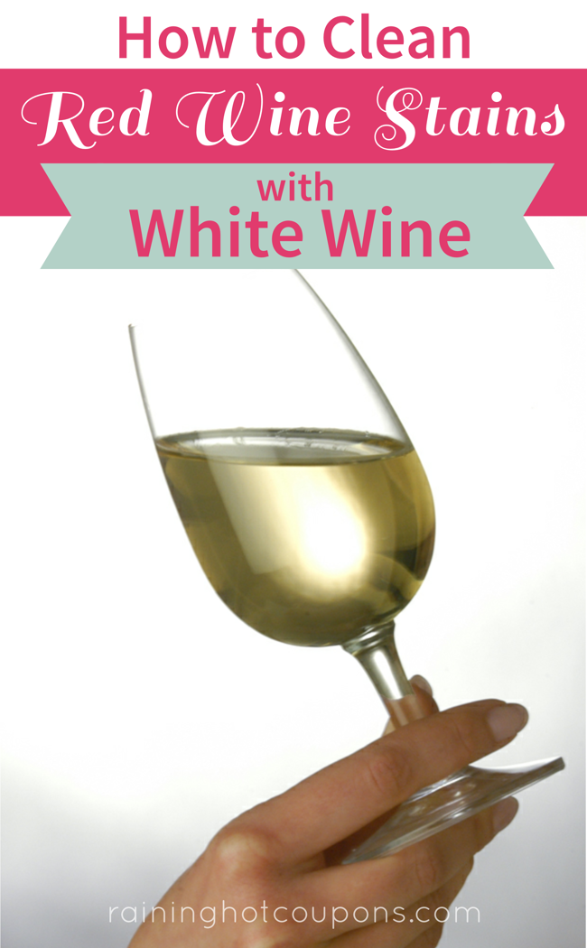 HowToCleanRedWineStainsWithWhiteWine How To Clean Red Wine Stains With White Wine
