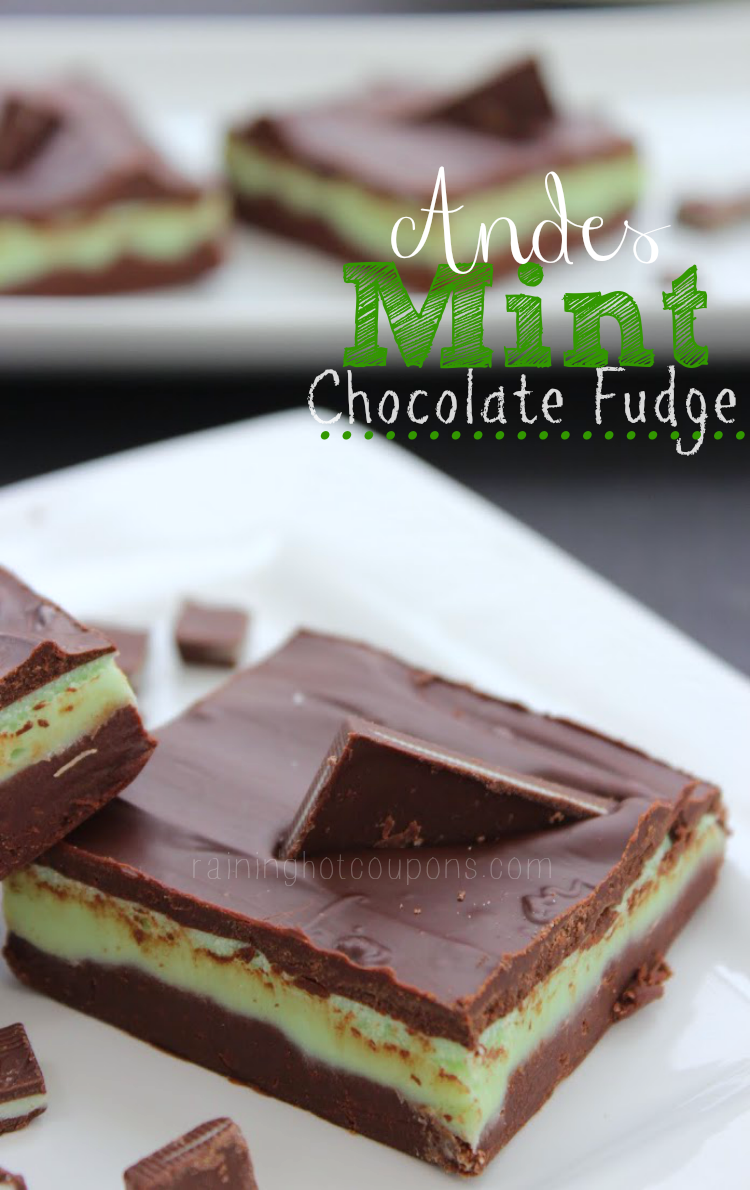 andes mint fudge.png Andes Mint Chocolate Fudge