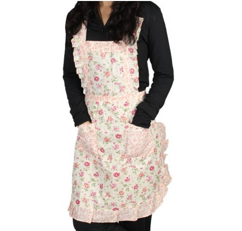 apron *HOT* Womens Cooking Apron with Pockets Only $4.02 + FREE Shipping!