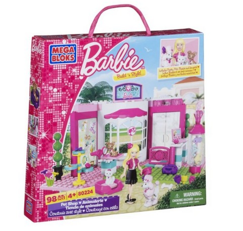 *HOT* Mega Bloks Barbie Pet Shop Only $13.82 (Reg. $24.99)!