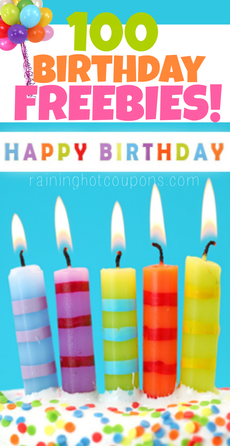 Throw in all the free coupons they send at your birthday and you can get multiple meals a year for free 🙂 Many of these birthday deals and coupons are via e-mail, so sign up in advance to your birthday.
