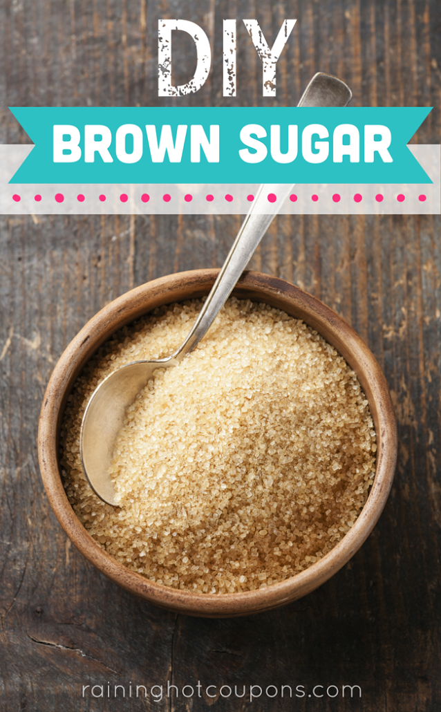 brown DIY Brown Sugar