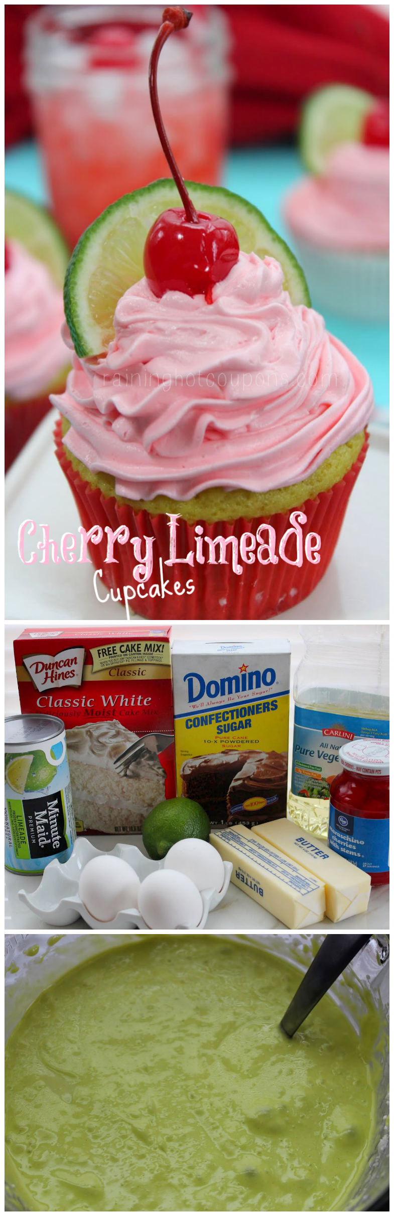 cherry limeade cupcakes collage.png