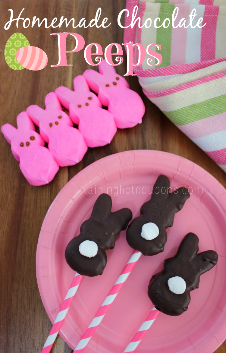 chocolate peeps.png Homemade Chocolate Peeps