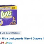 *HOT* Amazon: 50% Off Diapers = Box of LUVS Diapers ONLY $12.70 Shipped (Reg. $37!) + More!