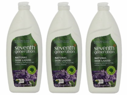 dish *HOT* Seventh Generation Dish Liquid (25 Ounce Bottles) Only $1.86 each + FREE Shipping (6 Pack)