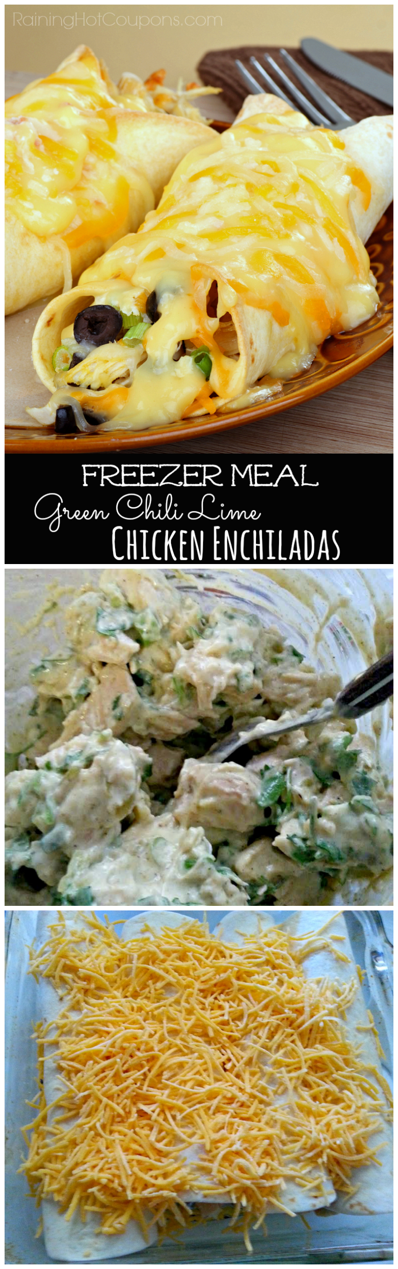 enchiladas1.png1 Green Chili Lime Chicken Enchiladas (Freezer Cooking Meal)