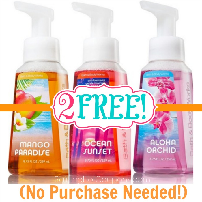 Hand soap coupons