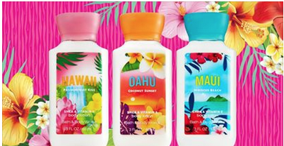 free2 Bath & Body Works: *HOT* FREE 3oz Hawaiian Body Lotion (TODAY ONLY!)