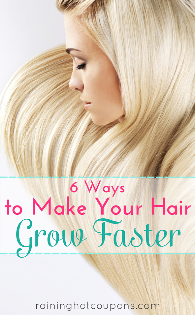 hair 6 Ways To Make Your Hair Grow Faster