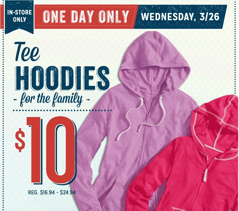 hood *HOT* Old Navy: Hoodies Only $10 (Reg. $27) Tees and Tanks Only $5 + More!