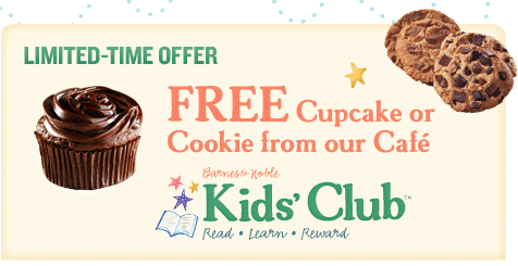 kids Barnes & Noble: FREE Cupcake on Kids Birthday!