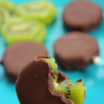 Chocolate Dipped Kiwi Bars