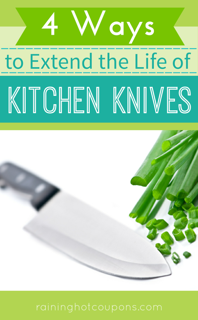 knives 4 Ways To Extend The Life Of Kitchen Knives