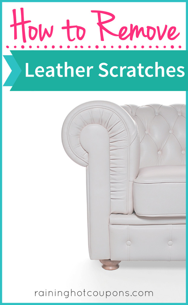 leather How To Remove Leather Scratches