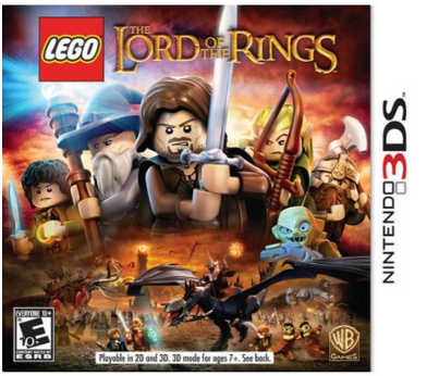 lego5 *HOT* LEGO Lord of the Rings   Nintendo 3DS Game Only $11.99 (Reg. $29.99)!