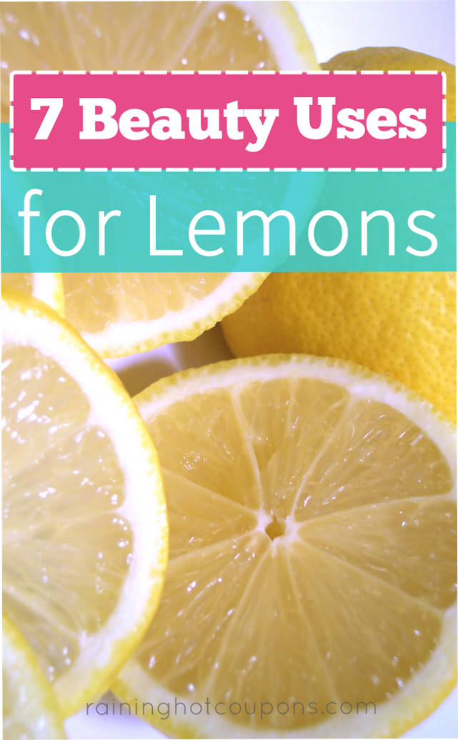 lemon 7 Beauty Uses For Lemons