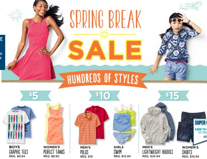 *HOT* Old Navy: Hoodies Only $10 (Reg. $27) Tees and Tanks Only $5 + More!