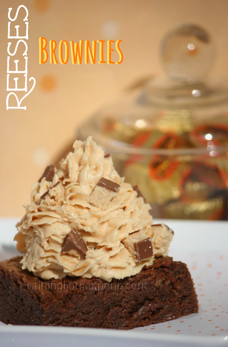 reeses cup brownies 2.png Mile High Reeses Cup Brownies