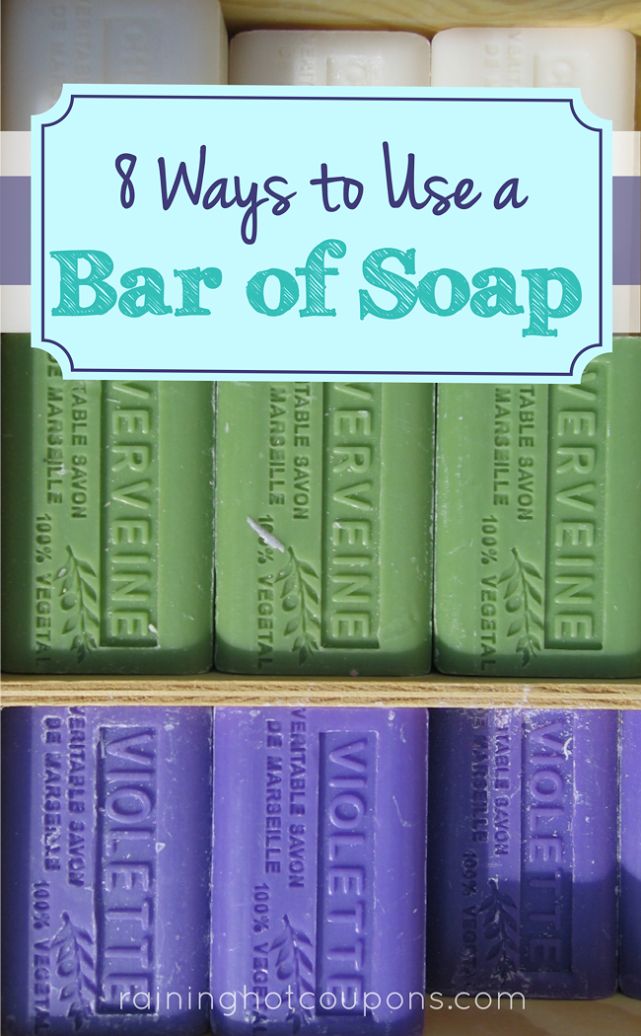 soap 8 Ways To Use A Bar Of Soap