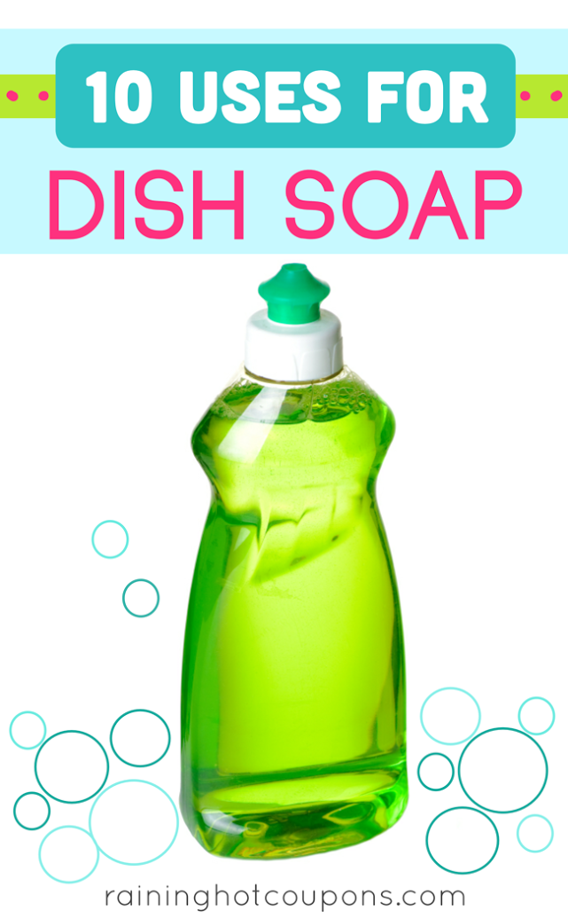 soap1 10 Uses For Dish Soap