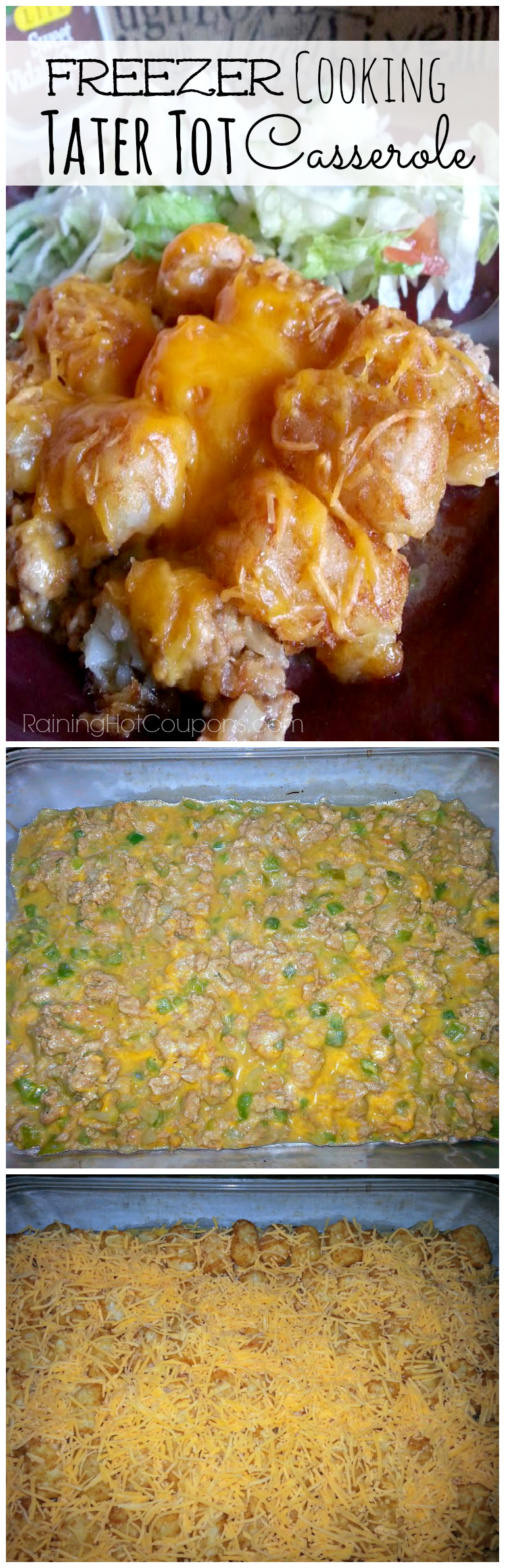 tater.png Tater Tot Casserole (Freezer Cooking Meal)