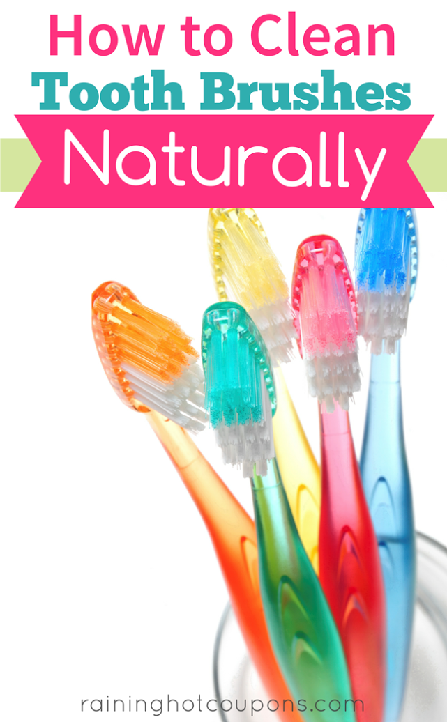 tooth How To Clean Toothbrushes Naturally