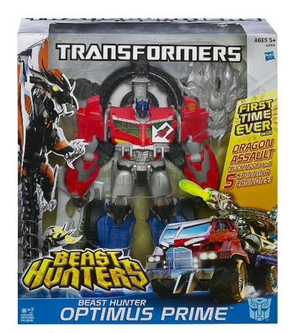 tr *HOT* Transformers Beast Hunters Optimus Prime Action Figure Only $19.49 (Reg. $59.99)!