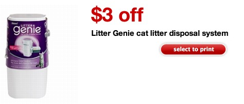 Litter Genie Disposable System Only $1.99 (REG. $14.99!)