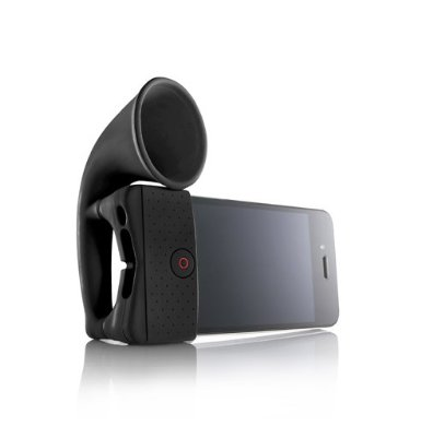31SKOQV6yxL. SX385  Amazon: Portable Amp For iPhone Horn Stand Only $1.95 Shipped (Reg. $24.99)