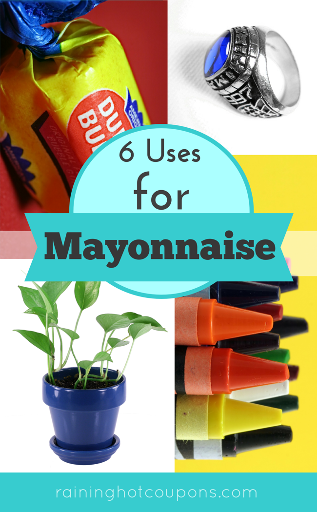 6UsesForMayonnaise 6 Uses For Mayonnaise