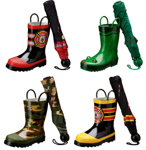 Amazon: *HOT* Western Chief Umbrella and Rain Boot Sets Only $26.39 (Reg. $48.00)! TODAY ONLY