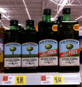 CALI *HOT* $2/1 California Extra Virgin Olive Oil = Only $4.96 for a Large Bottle!