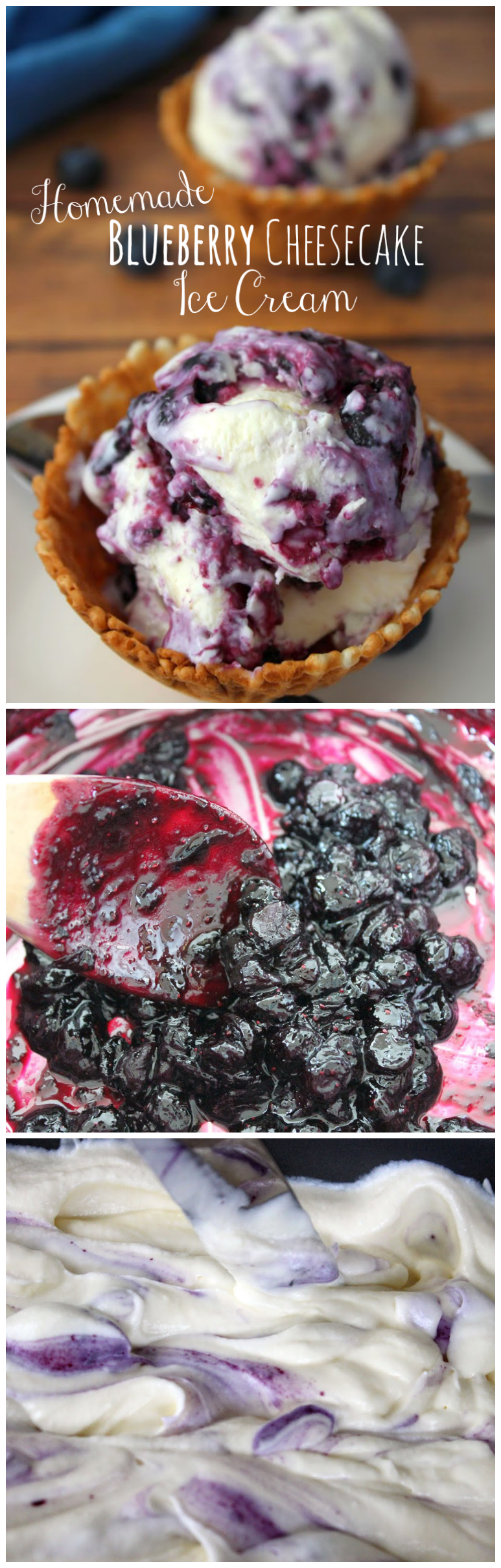 Collage.png No Churn Blueberry Cheesecake Ice Cream
