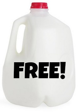 *HOT* FREE Gallon of Milk!